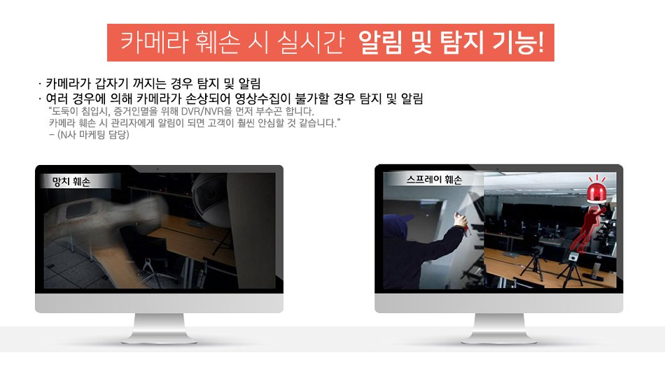 SK클라우드캠CCTV,SKcloudcam 훼손시 실시간 알림 및 탐지기능